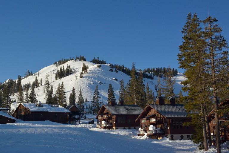 Sugar Bowl ski resort, Norden CA