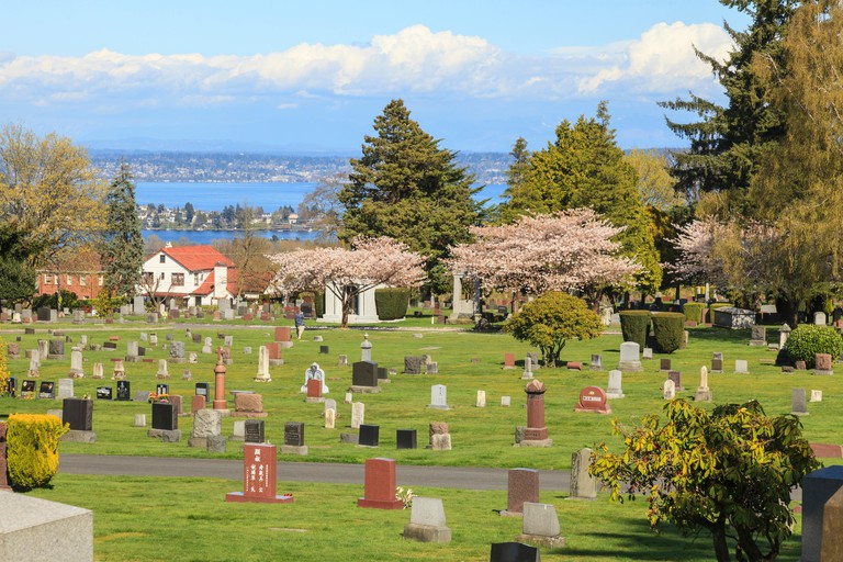 Lake View Cemetery, Capital Hill area of Seattle, WA