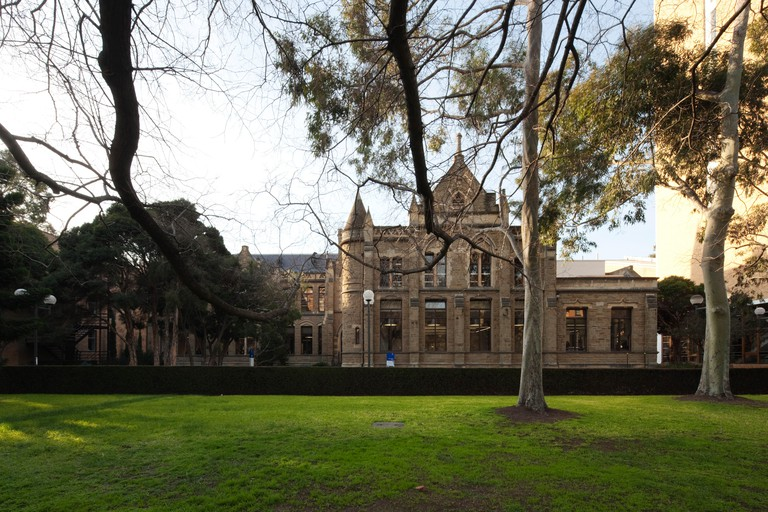 Facade. Baldwin Spencer Building, Melbourne, Australia. Architect: Woods Bagot, 2010.