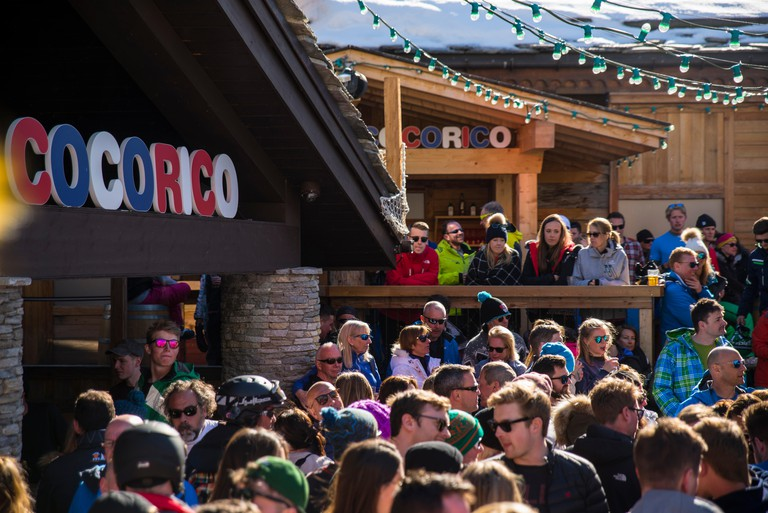 Cocorico bar, Val D'isere, France