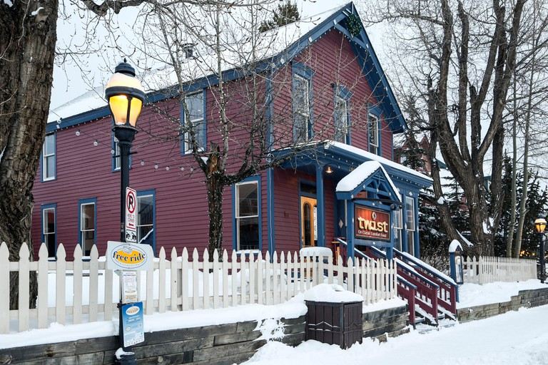 Twist Restaurant, Breckenridge, Colorado USA
