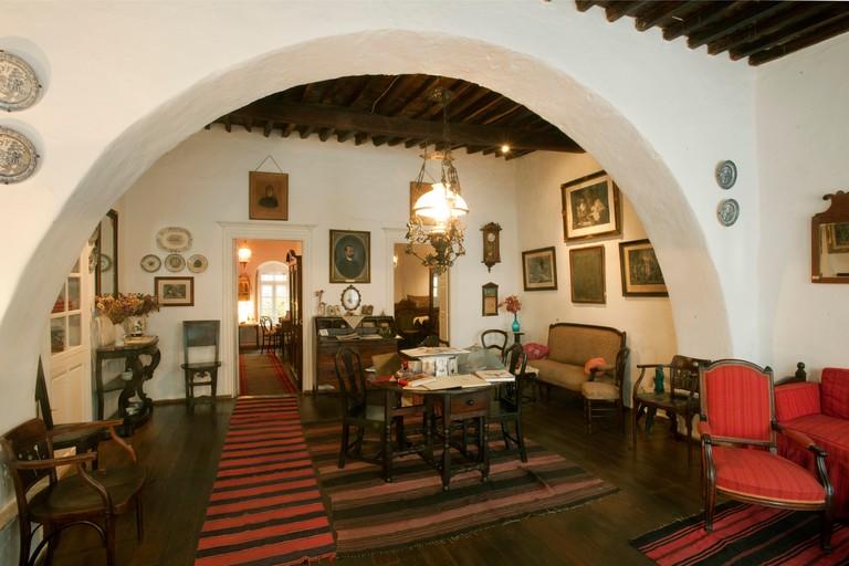 Griechenland, Kykladen, Mykonos, Mykonos Stadt ( Chora ), Lena´s Haus, Volkskundliche Sammlung in einem historischen Privathaus.