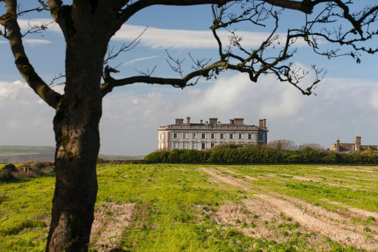 loftus hall wexford ireland haunted house. Image shot 2014. Exact date unknown.