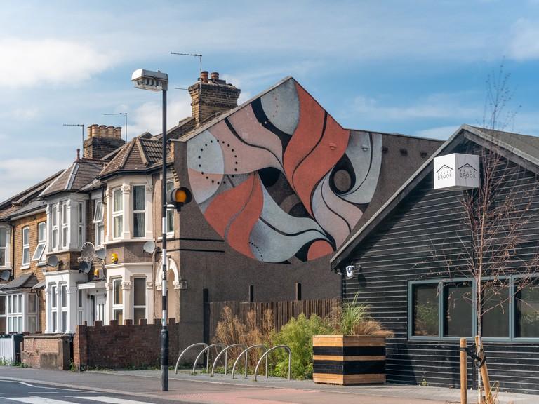 Lucy McLauchlan - London Mural Festival - 390 Grove Green Rd, Leytonstone, E11 4AP
