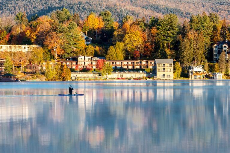 Lake Placid, New York.