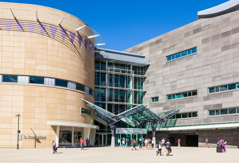Museum of New Zealand Te Papa Tongarewa national museum and mixed art gallery wellington waterfront new zealand WELLINGTON NEW ZEALAND nz