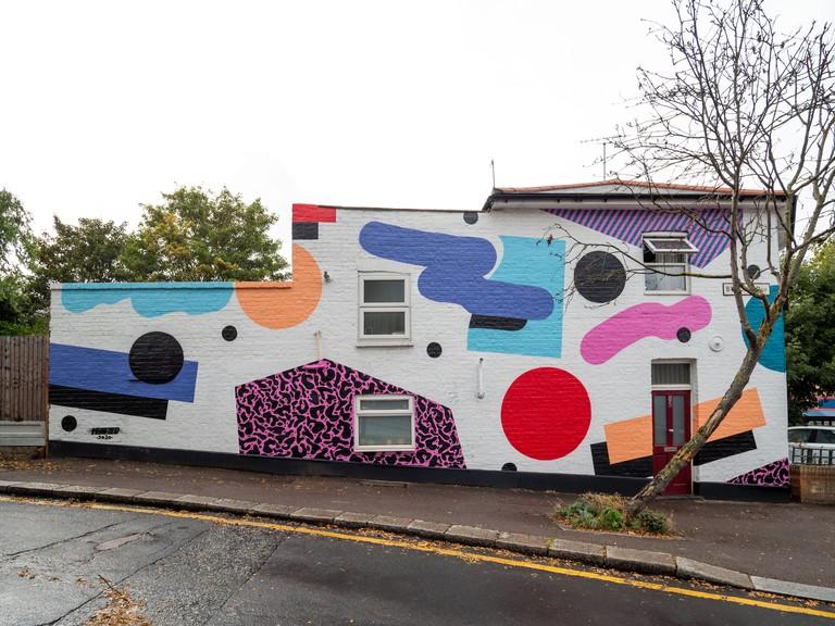 Mr.Penfold 1 - London Mural Festival - 85 Byron Rd Walthamstow, E17 4SN