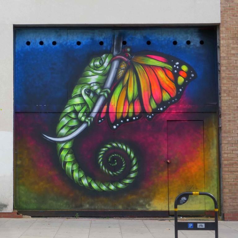 Otto - London Mural Festival - 100 Mare St, E8 3FG