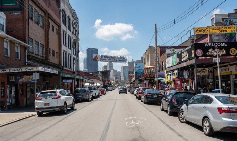 Strip District in Pittsburgh Pennsylvania