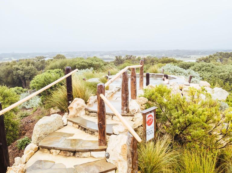 Peninsula Hot Springs Victoria Australia