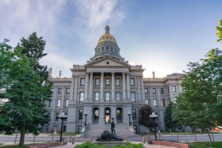 Colorado State Capital Building in Denver, Colorado
