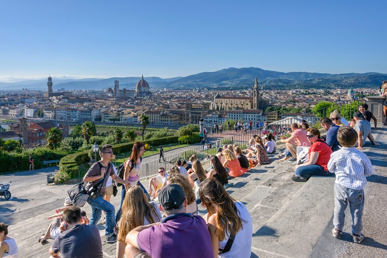 Piazzale Michelangelo, Florence, Tuscany