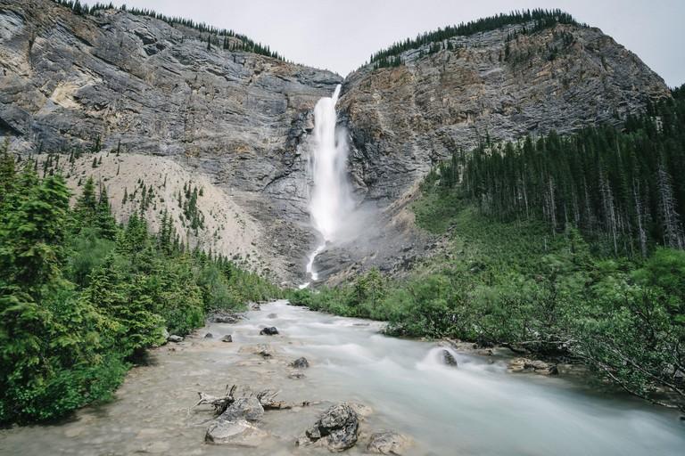 Takakkaw Falls, Waterfall, Canada