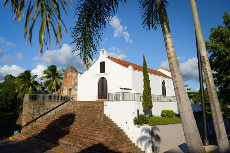 Museum of Religious Art Santo Domingo de Porta Coeli. San German, Puerto Rico. US territory. Caribbean Island.. Image shot 11/2015. Exact date unknown.