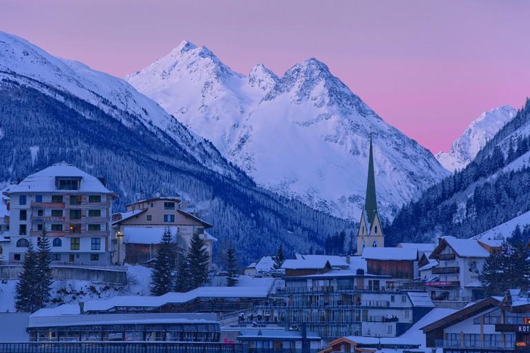 Austria, Tyrol, Ischgl