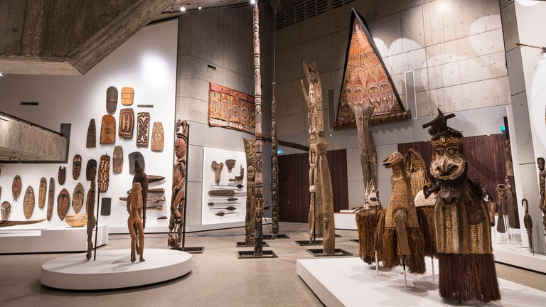 Papua-New-Guinea, National Capitale District, Port Moresby, collection of National Museum and Art Gallery, pieces from Sepik and Maprik