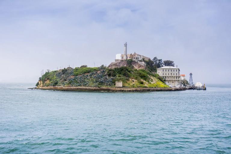 Alcatraz Island, San Francisco bay, California