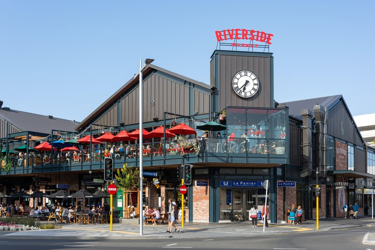 Riverside Food Market, Oxford Terrace, Christchurch Central City, Christchurch, Canterbury Region, New Zealand