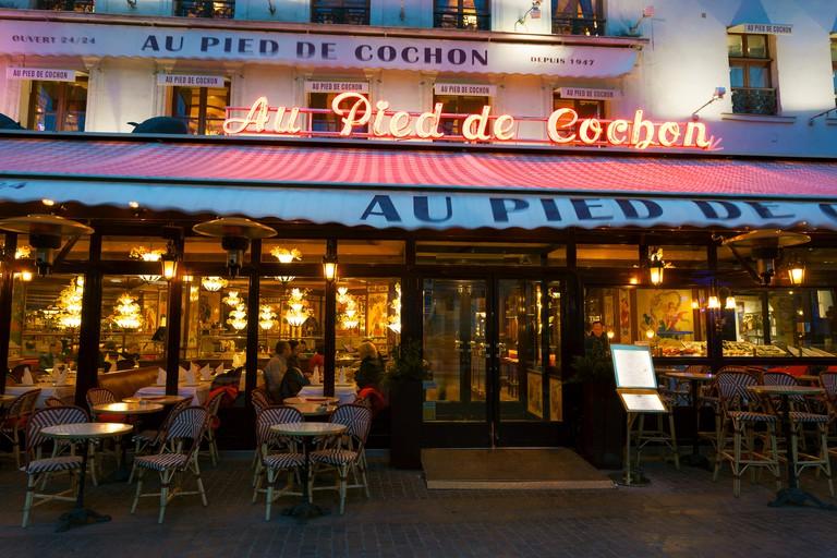 Restaurant Au Pied de Cochon, Paris, France