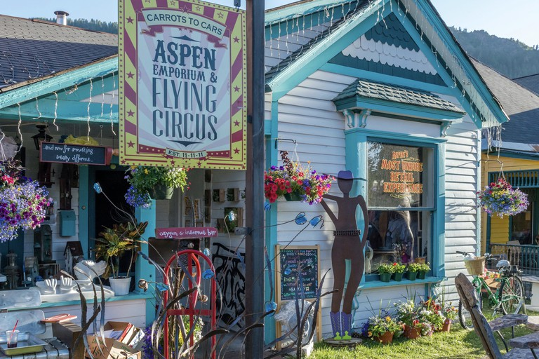 The Emporium and Flying Circus, Aspen, Colorado, USA
