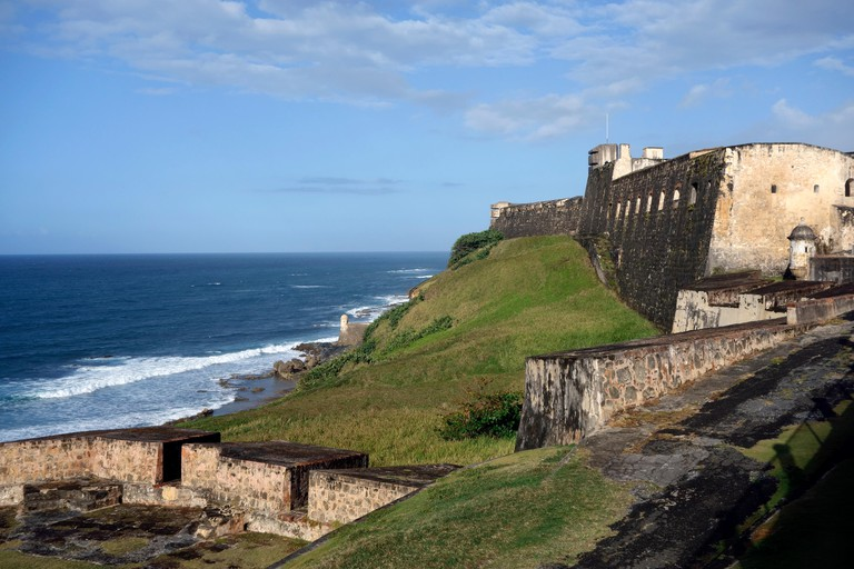 San Cristobal Fort, San Juan, Puerto Rico, Caribbean