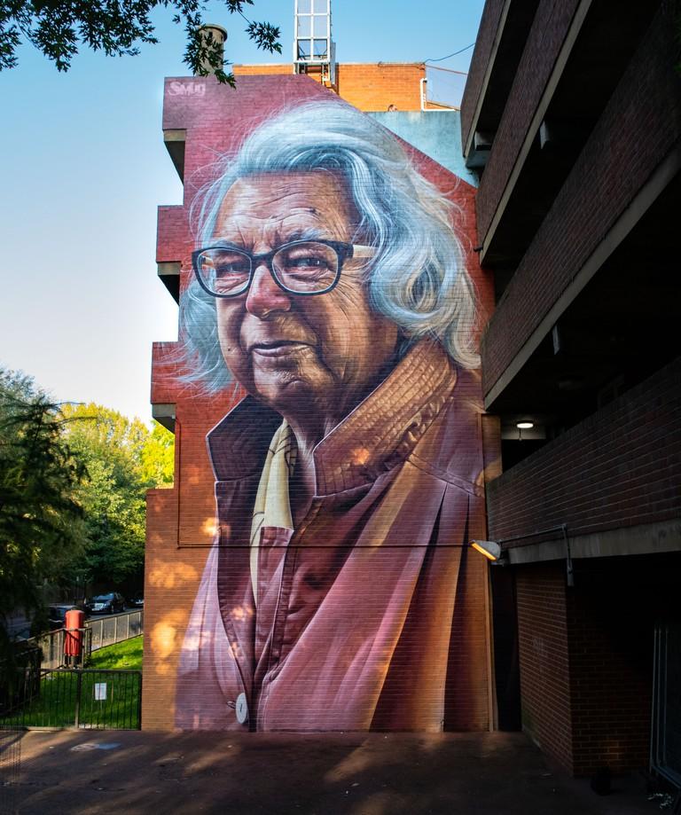 Smug 1 - London Mural Festival - Ash House, Netherwood Street, NW6 2JS