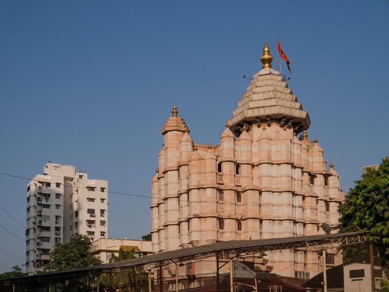 11 April 2019 Siddhivinayak Temple dedicated to Lord Ganesh at Prabhadevi Mumbai Maharashtra India -