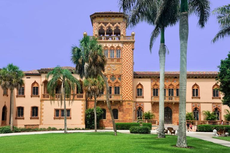 Museum, Sarasota Bay, Ringling Mansion, John and Mable Ringling Museum of Art, Sarasota, Florida, USA, United States, America, m