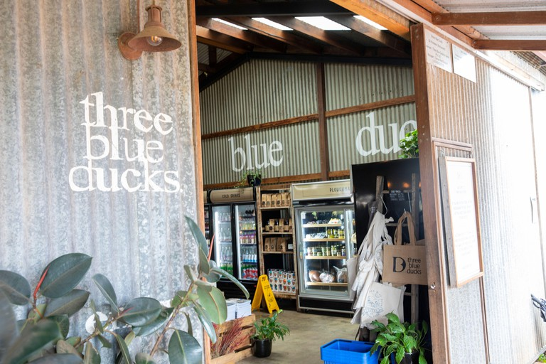 Three blue ducks restaurant at The Farm in Ewingsdale Byron Bay,Australia