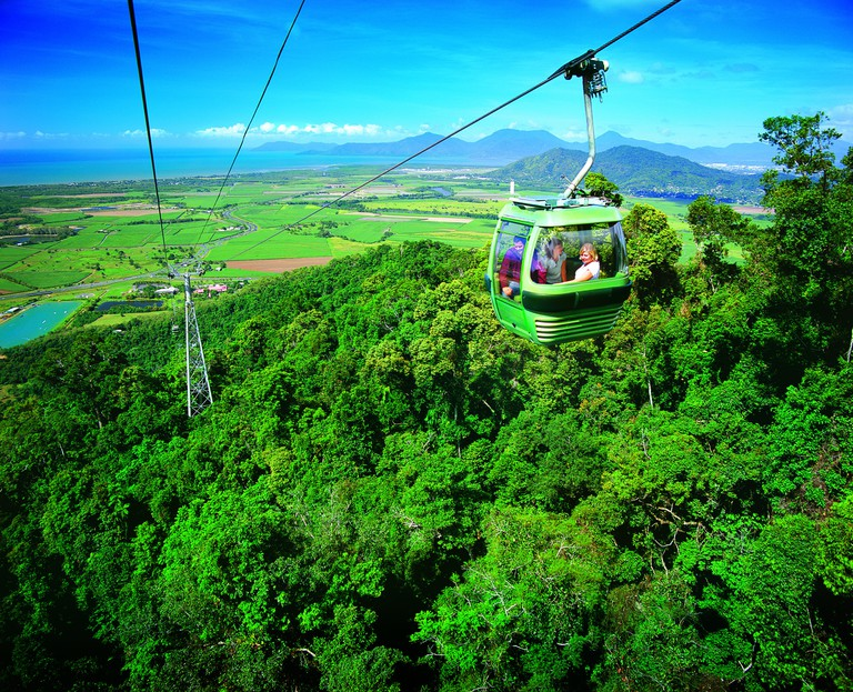 Skyrail Rainforest Cableway. The Daintree is the world's oldest rainforest, one of the best ways to see it is via the Skyrail Rainforest Cableway