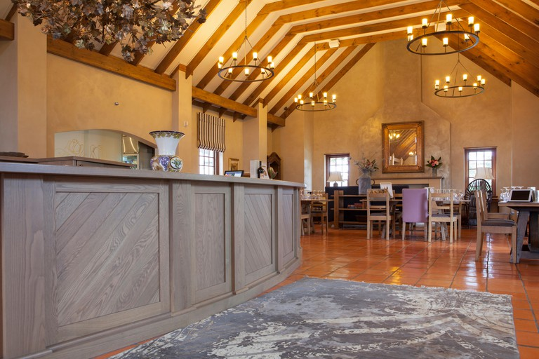 Cellar door tasting room at Voyager estate winery in Margaret River, Western Australia