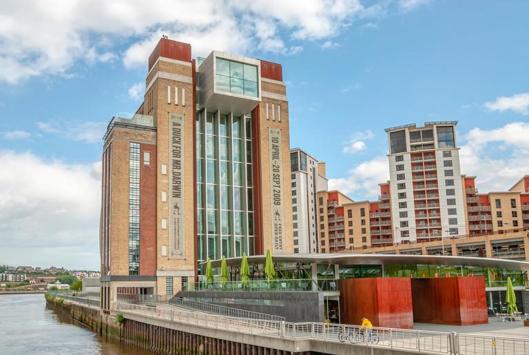 Baltic Centre for Contemporary Art (BALTIC), River Tyne, Newcastle, England, UK