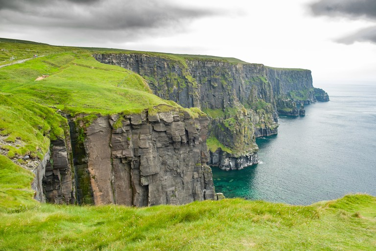 Cliffs of Moher, Lough South, County Clare, Munster, Ireland