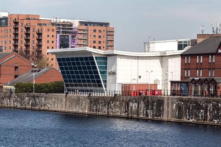 Grosvenor Leo Casino, overlooking Queens Dock, Chaloner Street, Liverpool