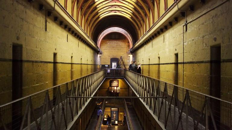 Old Melbourne Gaol, Melbourne.