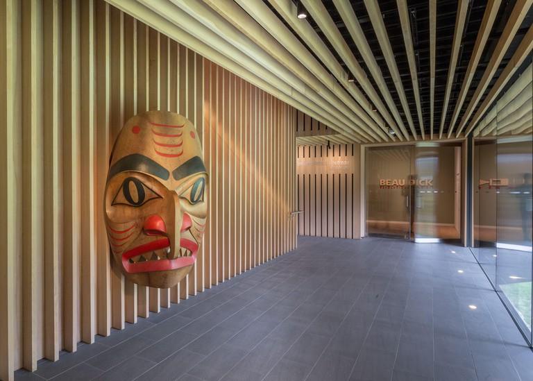 Audain Art Museum, Whistler, British Columbia, Canada