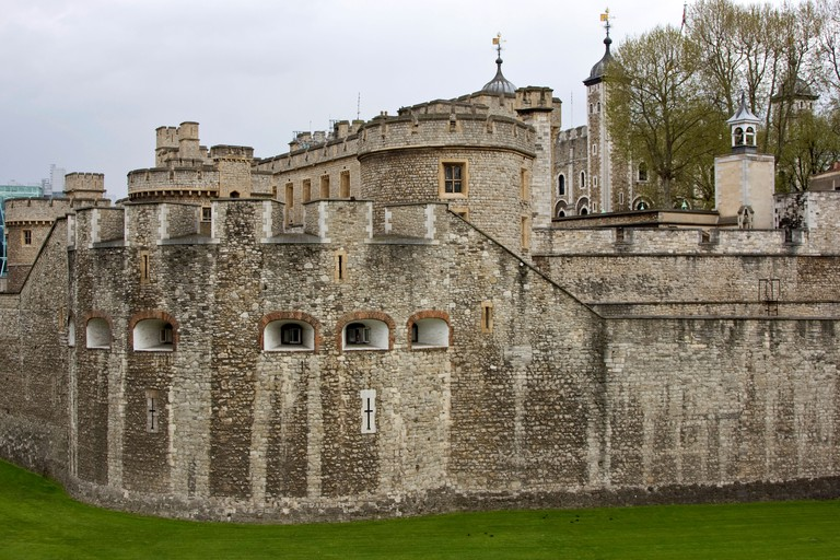 Tower of London, historic medieval fortress and palace, London England
