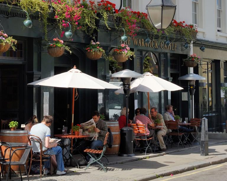 Warwick Castle pub, Little Venice, London