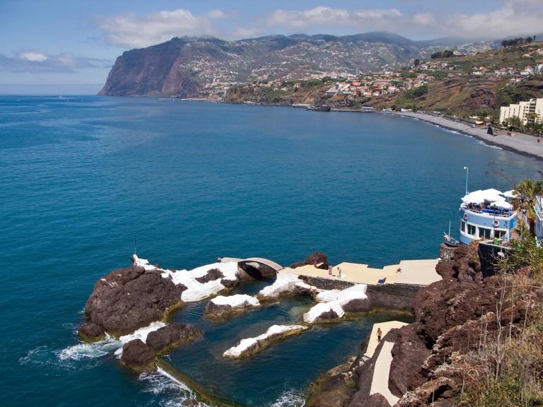 Pocas do Gomez, Praia Formosa and Cabo Girao, Ponta da Cruz, Funchal, Madeira