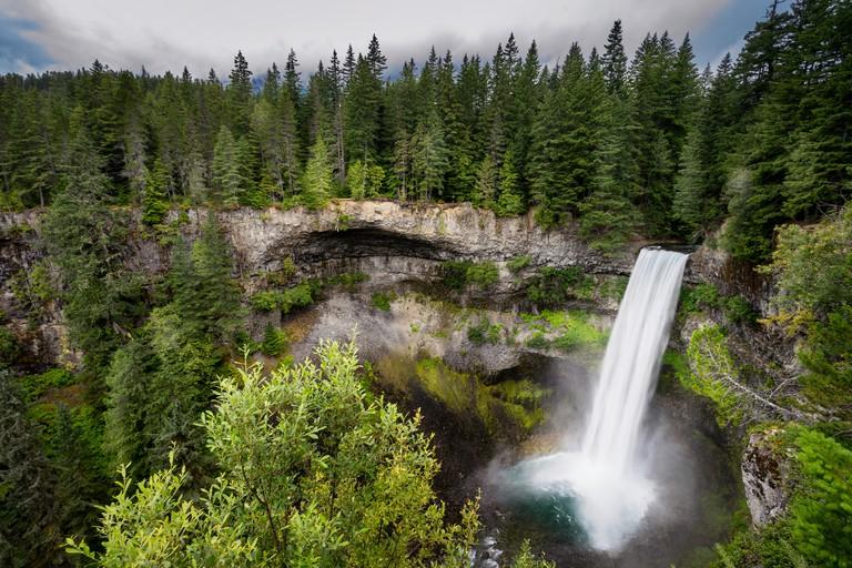 Landscape photo of Brandywine Falls in Whistler, British Columbia, Canada