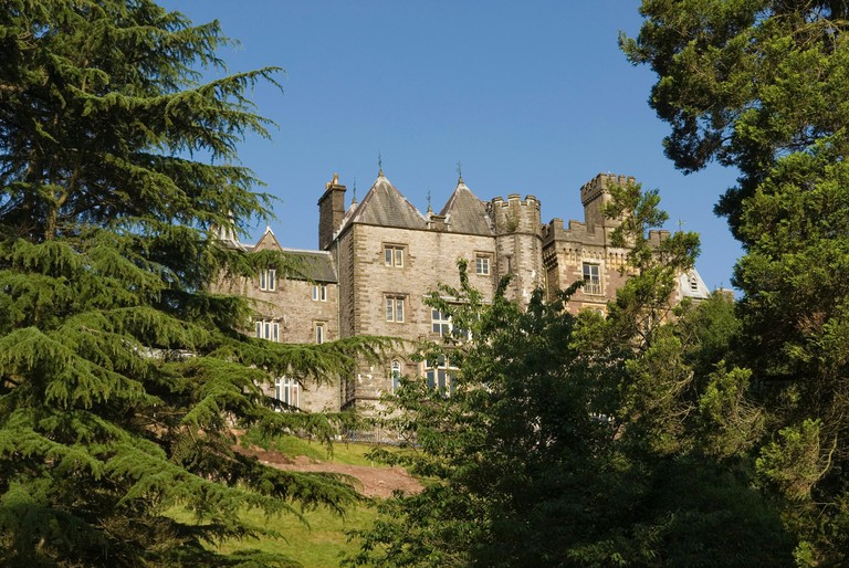 Craig-y-Nos Castle,Wales,United Kingdom,Great Britain,Europe