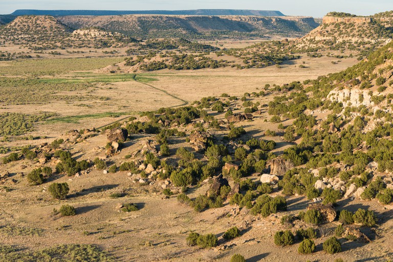 Comanche National Grassland south of La Junta, Colorado.