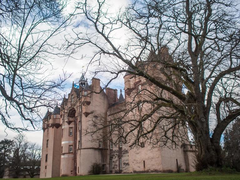 Fyvie Castle general view