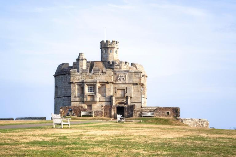 Pendennis Castle, Falmouth, Cornwall, England, United Kingdom