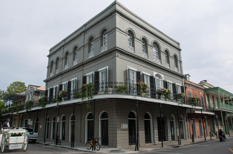 LaLaurie Mansion New Orleans Bourbon Street Haunted Ghosts Slaves Lower District Louisiana