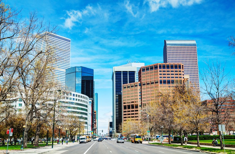 Downtown Denver, Colorado. Image shot 07/2014. Exact date unknown.