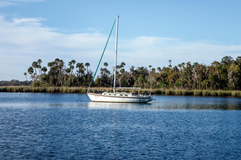 Florida, FL, South, Crystal River, Kings Bay, Crystal River National Wildlife Refuge, water, houses, homes, residential, manatee, sanctuary, sightseei
