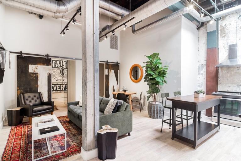 Former department store turned loft downtown, Nashville