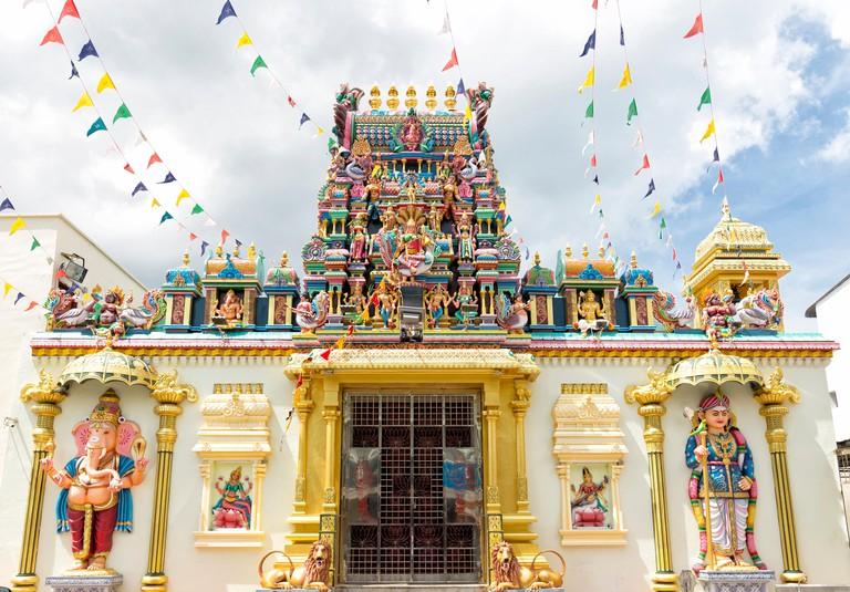 Sri Mahamariamman Temple in Penang Malaysia