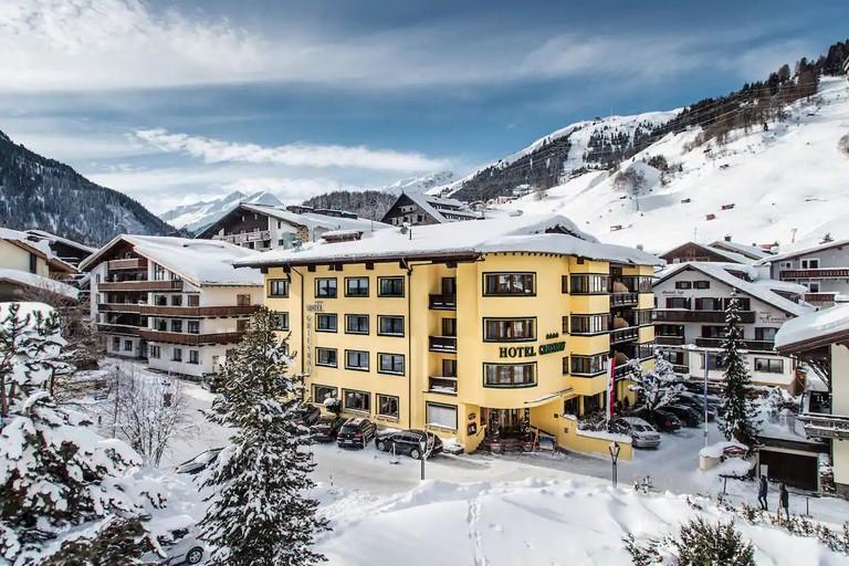 Hotel Grieshof, St Anton, Austria